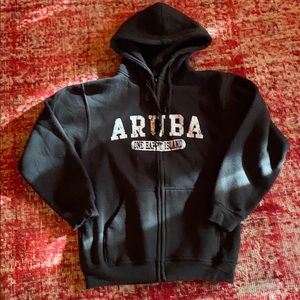 Aruba zip up